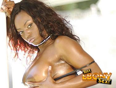 Jada Fire's Big Juicy Ebony Tits